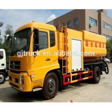 Tanque de succión de aguas residuales HOWO SinoTruk / camión cisterna de succión de alcantarillado / camión cisterna de transporte de aguas residuales / camión de transporte de cisternas de vacío