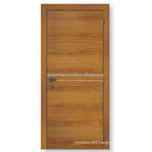 Popular honeycomb paper core interior flush room door design