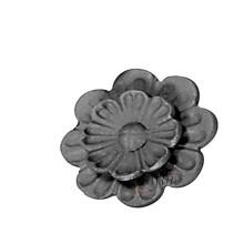 Nuevo molde decorativo del hierro labrado flores