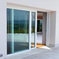 schöne französische Türen mit Seitenwänden