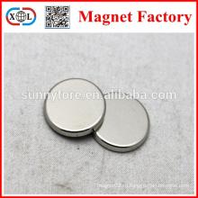 N38 сильные круглые магниты для одежды