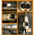 Bimetallisches PVC konisches Doppelschrauben-Fass