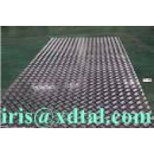 aluminum checkered plates 3003, 3004, 3005, 3015, 5052, 5754, 6061, 5083,6063,8011 for Gangways, fenceAluminium tank roofing