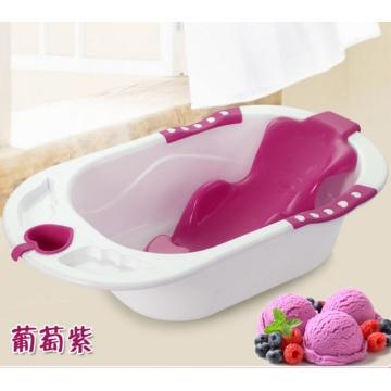 Bañera coloridos del bebé con el asiento