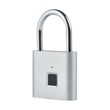 Candado de cerradura inteligente impermeable sin llave electrónica de huellas dactilares