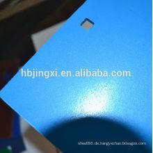 gefärbtes raues Oberflächen-PE-Blatt (PE-Blatt mit niedriger Dichte)