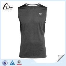 Camisola de alças de Fitness em branco para homens