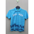 Factory Made Cheap Price Custom Plain Blue Men Polo Shirt