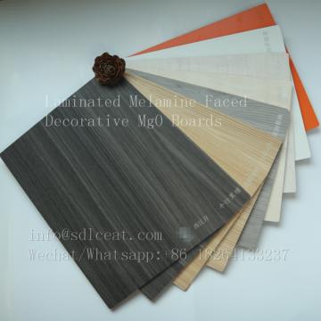 Fireproof melamine decorative flexible interior wall panels