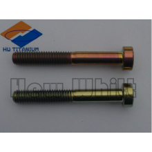 high strength Gr5 titanium screw DIN912