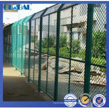Clôture de maille de tôle d'acier expansé / système de clôture isolé d'atelier