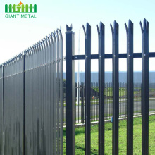 Garden Decorative Steel PVC Dilapisi Palisade Europe Fence
