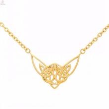 Wholesale cadenas de oro de acero inoxidable fotos sri lankán collar de bodas diseños de joyas
