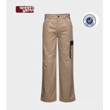 Moda unisex barato TC carga calças workwear Melhor qualidade unisex calças de carga