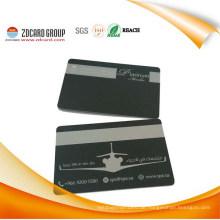 Hochsicherheits-Schwarz-Kern-PVC-Visitenkarte
