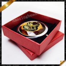 Flor de cristal de cristal de espejos joyas con caja (MW009)