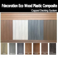 Long Lifetime Fireproof Outdoor Flooring Composite WPC Decking