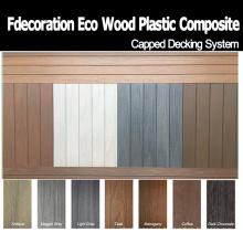 Walkboard de cubierta WPC con tapa decorativa para ventas directas de fábrica