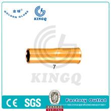MIG Welding Tweco Nozzle 25CT50 utilisé pour le pistolet à souder