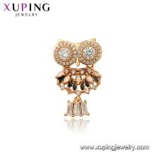 34101 xuping moda animal coruja pingente charme jóias para mulheres