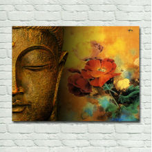 Modern Abstract Buddha Painting