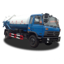 Dongfeng 153 vacuum suction sewage truck