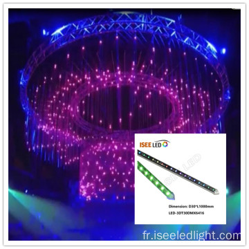 Tube DMX 3D LED pour plafonds Disco