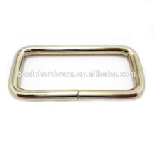 Moda de alta calidad de Metal Rectángulo de suministro de anillo