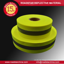 Customized oxford reflective fabric warning tape