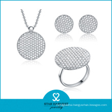 New Design 925 Silver Micro Pave Jewelry for Wholesale (SJ-0035)