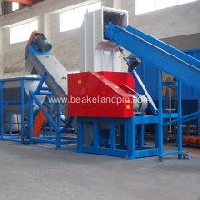 PC PVC Washing Cleaning Recycle machine