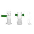 Reciclador de vidrio Bubbler pipas de fumar con dos cámaras de reciclado (ES-GB-368)