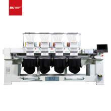 BAI High speed 4 head 12 colors factory computerized ca p embroidery machine with good price
