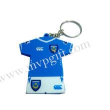 Porte-clés en plastique pour cadeau de sport (m-PK03)