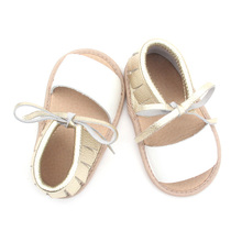 Venta al por mayor Shoelace Newborn Baby Girl Sandals