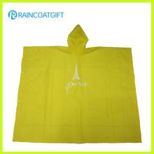 Прозрачный легкий вес EVA Rain Poncho Rvc-005