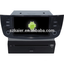 Android 4.4 Mirror-link TPMS DVR 1080P dual core car dvd player for Fiat Linea/Punto with GPS/Bluetooth/TV/3G