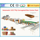 single facer corrugated box machine, carton machine