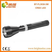 Fabrik Versorgungsmaterial-im Freiennotwendigkeit Usage USA Cree führte XPE R2 3w Aluminium bewegliche nachladbare japanische Fackel-Taschenlampen-Licht