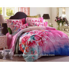 Wonderful polyester disperse printed microfiber fabric for bedding sheet with good quality on sale