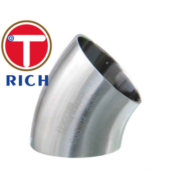 Stainless Seamless And Welded 45 Degree Steel Elbow