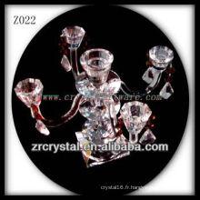 Bougeoir en cristal populaire Z022