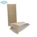 12oz Kraft Paper Coffe Bags with Degassing Valve Packaging Bag
