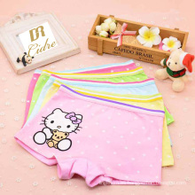 Japaness Estilo Carton Hello Kitty Impreso Bragas Lovely Childern Breathable Soft Underwear