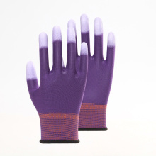 Multicolor PU Working Gloves Non-slip