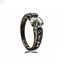 Anel de noivado de cobre preto fornecimento de jóias conjunto de jóias de noiva para as mulheres