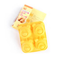 Moule à gâteau en silicone ours à 4 cavités Cuisson de bonbons au chocolat