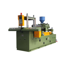Angle double sliding injection machine