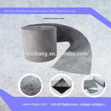 Pano de filtro de fibra de carbono ativado