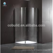 beliebte Luxus-Duschkabine Rahmenlose Schiebe-Glas-Duschkabine
